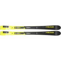 Горные лыжи WC iRace Team SLR Pro black/neon yellow